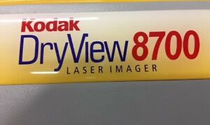 Kodak Dryview 8700 X ray Processor Laser Printer Bme