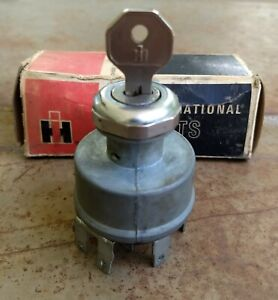 Nos International Harvester Scout Travelall Truck Ignition Switch