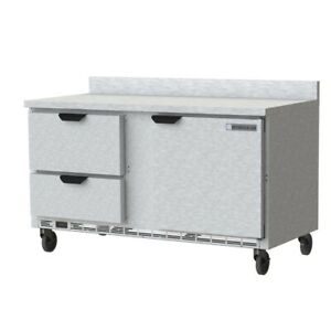Beverage Air Wtfd60ahc 2 fip Freezer Counter Work Top