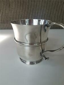 Nayler Bros London England Sterling Silver Mug For Tiffany Co 1927 245 Gr