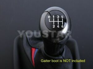 Luxury Genuine Italian Leather Weighted 6 Speed Gear Knob For Bmw M tec M3 M5