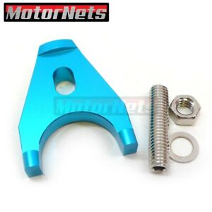 Blue Billet Aluminum Hei Distributor Clamp Hold Down Small Big Block Sbc Bbc
