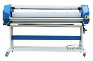 63in Stand Frame Full auto Single Side Wide Format Hot cold Laminator Office