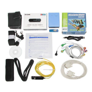 12 lead Wireless Exercise Stress Ecg Test Analysis System 10 Package Electrodes