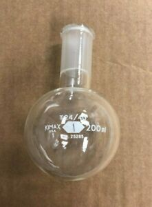 Kimax Boiling Flask 200 Ml Chemistry Lab Glassware