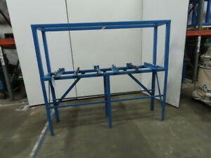Cnc Turning Center Pallet Storage Staging Change Out Rack 20 X 77 Id
