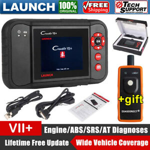 Launch Creader Vii Automotive Scan Tool Obd2 Code Reader Engine Abs Airbag Srs