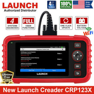 Launch Creader Cr9081 Obd2 Code Reader Scanner Abs Sas Tpms Immo Gear Learning