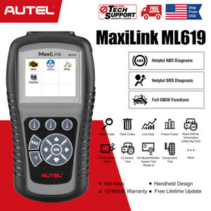 Autel Automotive Abs Srs Airbag Code Reader Diagnostic Scan Tool Obd2 Scanner