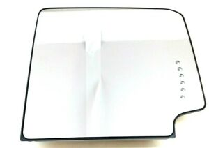Chevrolet Gmc Rh Passenger Side View Trailer Tow Upper Mirror Glass Heated Oem