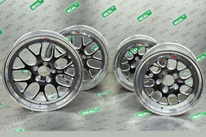 Weld Wheels S77 Street Drag Pack For 93 98 Toyota Supra 18 Front 15 Rear
