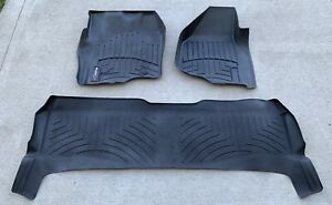 Ford F250 F350 2012 2016 Weathertech Floor Mats