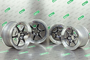 Weld Wheels S79 Street Drag Pack For 93 98 Toyota Supra 18 Front 15 Rear