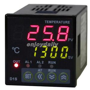 48x48din Digital Pid Temperature Controller Relay Output Thermocouple