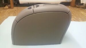 2001 2004 Dodge Caravan Chrysler Town country Center Console Arm Rest Taupe