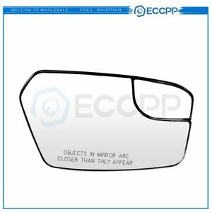 Eccpp For 2011 2012 Ford Fusion Chrome Convex Mirror Glass Passenger Right Side