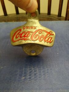 Coca- Cola Wall Mounted Bottle Opener W. Germany