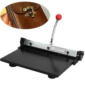 11 8 x7 9 Manual Leather Folder Leather Linear Edge Folding Machine For Wallet