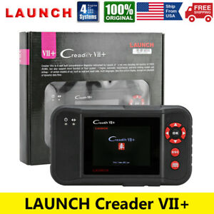 Launch Automotive Engine Abs Srs Airbag Scan Tool Obd2 Code Reader Diagnostic