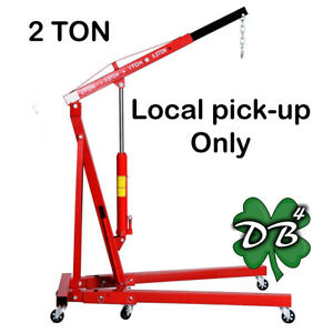 2 Ton Engine Hoist 4000lb Local Pick up Only