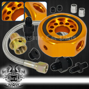 For Honda Acura Ls B20 Oil Supply Line Adapter Plate Sandwich Conversion Kit Gd