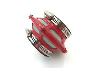 2 5 Bypass Valve Filter Cold Air Short Ram Intake Induction Euro Jdm Red