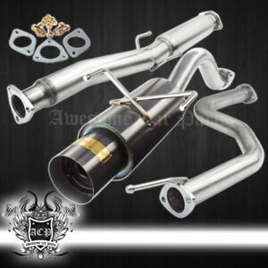 For 96 00 Civic Ek Hatchback 4 5 Muffler 2 5 3 Piping Catback Exhaust System