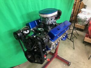 383 Stroker Crate Motor 420 520hp Sbc With Black A c Roller Turn Key Sbc 383 383