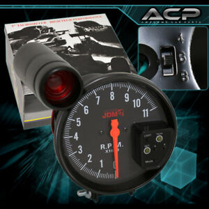 Universal Performance Race Sport 5 Tachometer 7 Led Display Shift Light Gauge