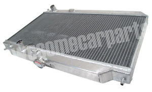 90 93 Acura Integra Da Dual Core Manual Transmission Aluminum Racing Radiator
