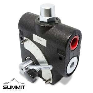 Hydraulic Adjustable Variable Flow Control Valve W Relief 0 30 Gpm 12 Sae