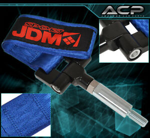 Jdm Sport 4000lbs Screw On Tow Hook Strap Adapter For 2017 Civic Hatch Blue