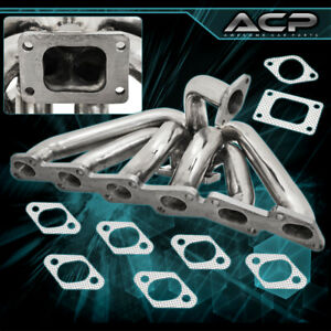 For 240sx Skyline Rb20det Rb25 T3 T3 T4 Turbo Exhaust Manifold Stainless Steel