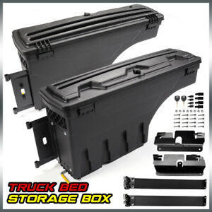 For Chevy Silverado Gmc Sierra 07 18 Truck Storage Box Toolbox Rear Rh Lh Side