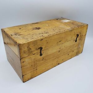 Large Vintage Weight Set For Balance Scale In Original Wooden Box 14