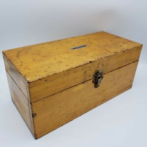 Large Fisher Vintage Weight Set For Balance Scale In Original Wooden Box 14