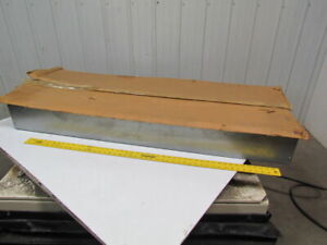Ge General Electric Type Nlab Empty Panel Box W cover 22 wx56 1 4 tx6 d