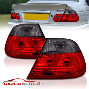 2000 2001 2002 2003 For Bmw E46 325ci 330ci M3 2dr Coupe Red Smoke Tail Lights