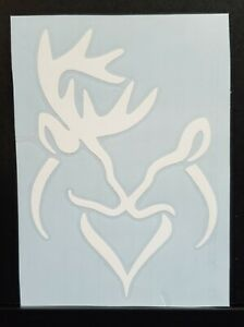 Deer Sticker Decal Kissing Buck And Doe Hunting Truck Car 5x3 5 In 20