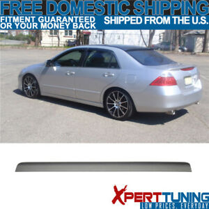 Fit For 2003 2007 Honda Accord 7th Gen Rear Window Visor Roof Lip Spoiler