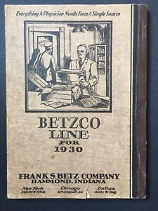 Betzco Line 1930 Physican S Medical Equipment Catalog Illustrated 288 Pages Dr