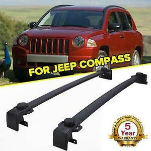 For 2017 2018 Jeep Compass Roof Rack Cross Bar Luggage Cargo Carrier Oe Style