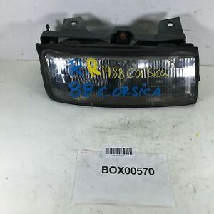 1988 Chevrolet Corsica Front Right Passenger Headlight Lamp Light Halogen Oem