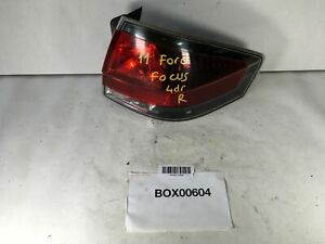 2011 Ford Focus Rear Right Passenger Side Tail Light Stop Halogen Lamp Oem