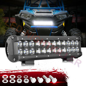 12inch Led Light Bar Spot Flood Combo Work 6000k Driving Lamp Off Road Truck 12v