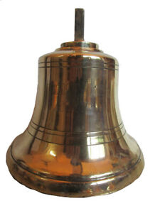 Vintage Wismar 1977 Made Marine Brass Bell Ship S 100 Original 945