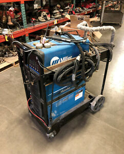 2017 Miller 907716 01 1 400 Maxstar Tig Welder W Coolant Cart And Acc