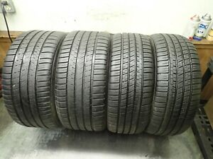Set Of Michelin Pilot Sport A S 3 Tires 2 225 45 18 And 2 255 40 18 6 8 5 32
