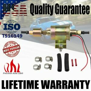 Universal Electric Low Fuel Pump Carburetor 12v Hep 02a 5 9psi Gas Diesel Inline