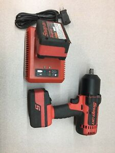 Snap on Tools Ct7850 1 2 Drive 18v Cordless Impact Wrench Refurbished